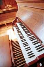 Photo of Divinity Hall organ after restoration
