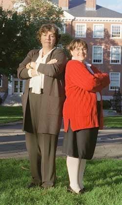Photo of Etta Kralovec and Janine Bempechat