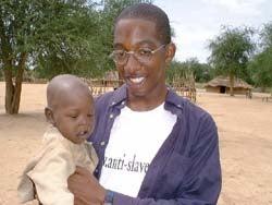 Photo of Jay Williams in Sudan