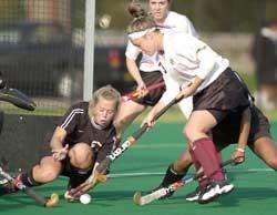 Kate McDavitt scores goal