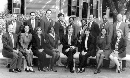 Administrative fellows for 2000-01