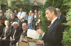 Photo of President Rudenstine