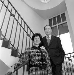 Photo of Rita E. and Gustave M. Hauser