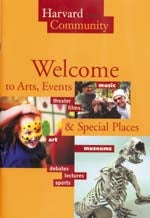 Cover of Welcome to Harvard brochure
