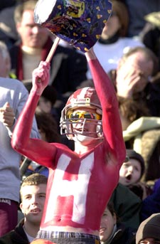 Photo of Harvard fan