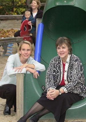 Photo of Karen Horsch and Heather Weiss