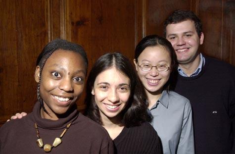International students at Harvard University