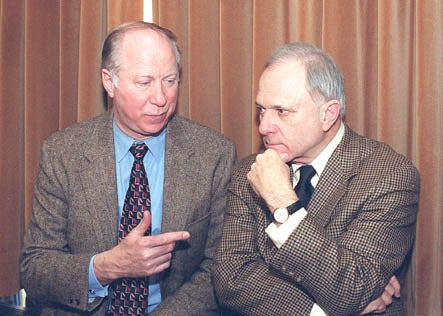 David Gergen and David Pryor