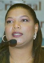 Photo of entertainer Queen Latifah
