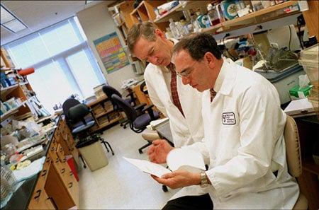 Dennis Selkoe and Howard Weiner