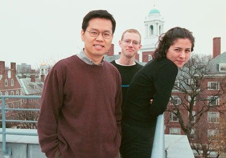 Andrew Han, Brendan Miller and Sarah Karlinsky