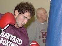 Boxing Club President Jonathan Regenstein
