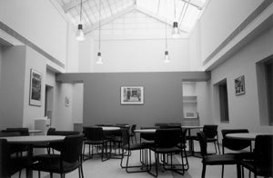 Renovated space for the library's use at 625 Massachusetts Ave.