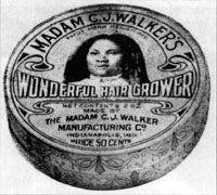 """C.J. Walker's """"Wonderful Hair Grower"""""""