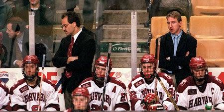 Harvard hockey players