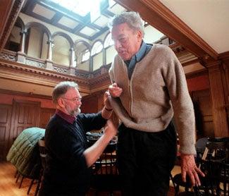 Ian Challis and Larry Hall