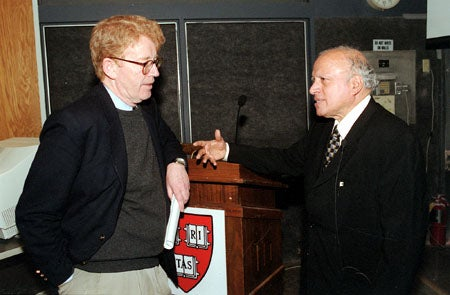 Michael McElroy and M.S. Swaminathan