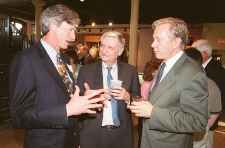 Robert Durand, Edward O. wilson and Bruce Babbitt