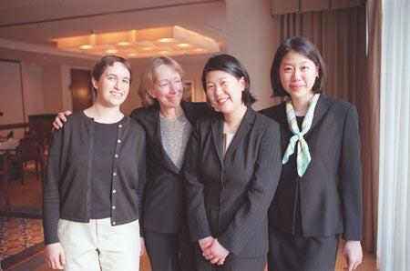 Amy Offner, Doris Kearns Goodwin, Hannah Choi and Peggy Lim