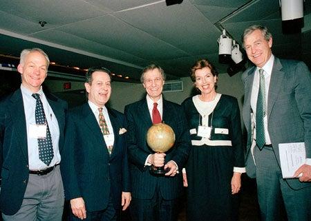 William C. Clark, Martin S. Kaplan, Neil L. Rudenstine; Joan M. Hutchins and Timothy E. Wirth