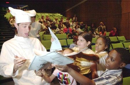 Michael Di Capua and students