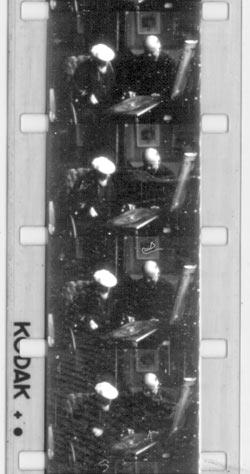 Sample frames of Renoir film
