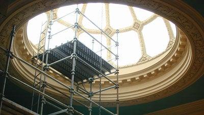 Widener scaffolding