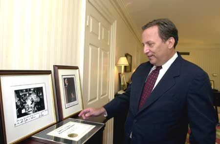 Lawrence Summers with photos