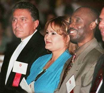 Augusto Arevalo, Anali Rivera, Jean Bellevue