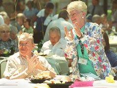 Bob Hutchinson and Eileen Gross