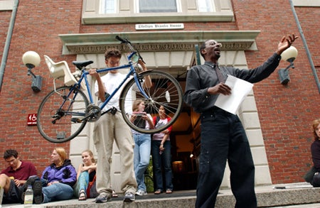 Auctioning bicycles