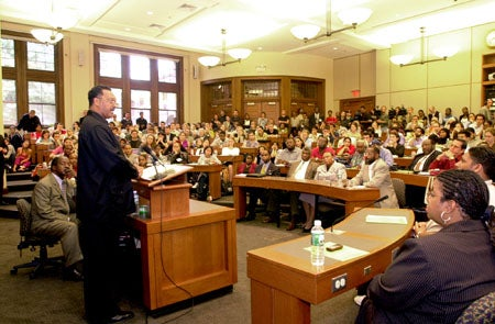 Jesse Jackson at Harvard Law School
