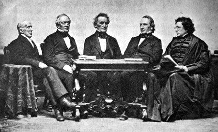 Five Harvard presidents
