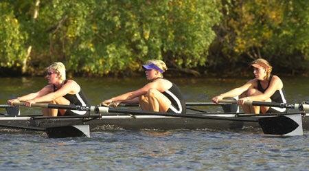 Radcliffe crew rowers
