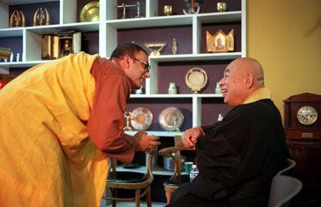 Tenzin Priyadarshi and Ekan Ikeguchi