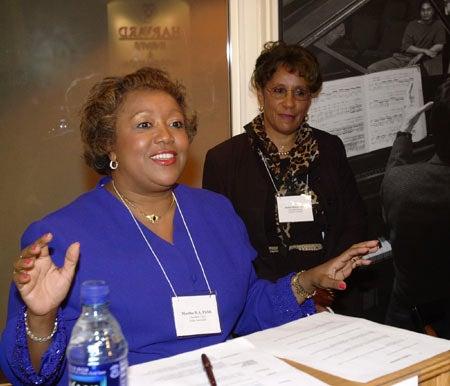 Martha Fields, Jackie Benson-Jones