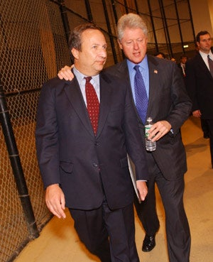 Lawrence H. Summers and President Bill Clinton