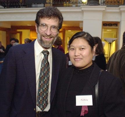 Pu Zhang and Daniel Tenen