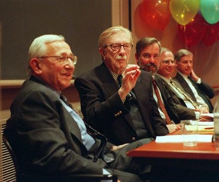 Samuel Beer at celebration