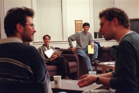 Bryan Sun, Daniel Andor and Johnathan Jenkins