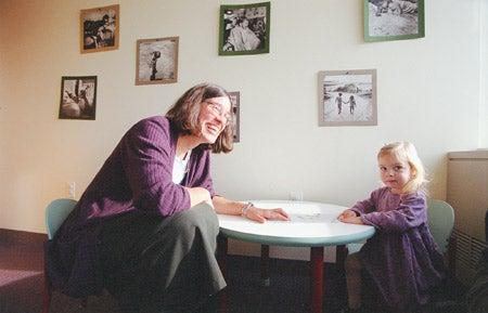 Elizabeth Spelke and Sorrel Galantowicz