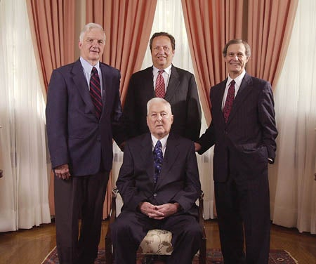 Four Harvard presidents