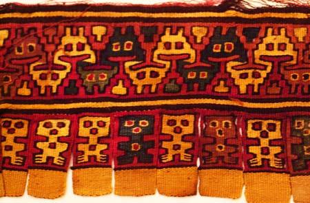 Peruvian tapesty