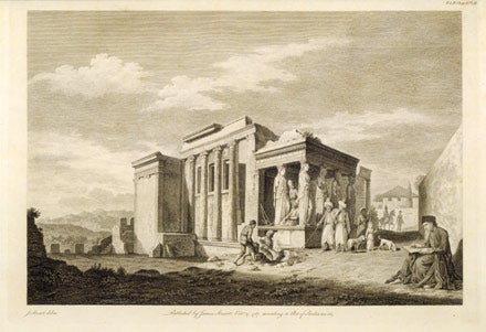 Antiquities of Athens engraving