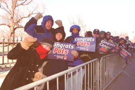 Patriot fans at GSD