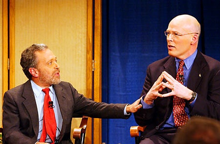 Robert Reich and Warren Tolman