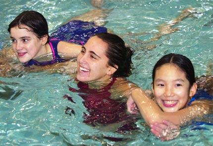 Robyn Stephens, Tina Codini and Lisa Ngu