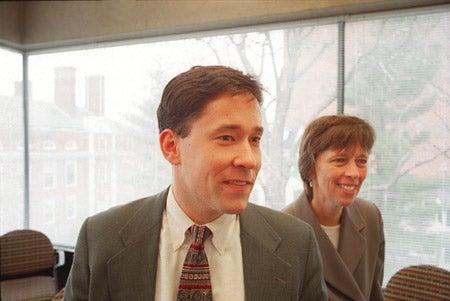 David Kauffman and Susan Moore Johnson