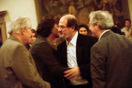 Salman Rushdie, Jamaica Kincaid, John Ashbery and James Atlas