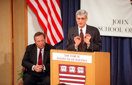 Lawrence H. Summers and Robert Rubin